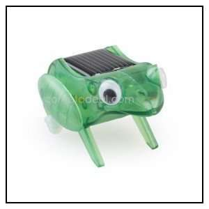 new style solar powered capering frog toy Toys & Games