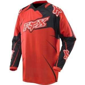 FOX 360 JERSEY BRIGHT RED SM