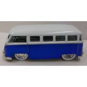 Jada Toys 1/32 Scale Diecast Dub City Series 1962 Vw Bus in Color Blue