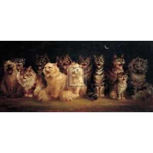 Louis Wain   CATS CHORUS