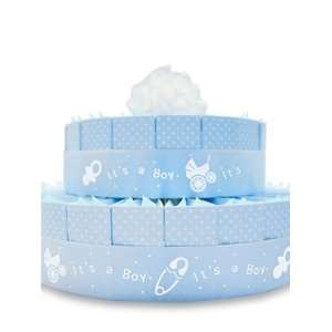 Its a Boy Baby Shower Favor Cake Kit   2 Layer Kit for
