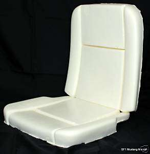 65 66 1965 1966 Mustang Pony Interior Seat Foam cushion
