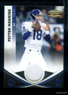 JAG20) 2011 Gridiron Gear PEYTON MANNING Jersey Colts 182/249