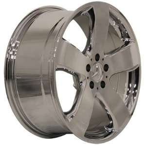 Mercedes CLK 17 Inch Chrome AMG Style Wheels Rims 1968 1969 1970 1971
