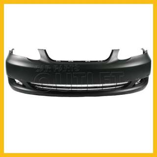 2005   2008 TOYOTA COROLLA OEM REPLACEMENT FRONT BUMPER COVER
