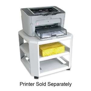Master Mobile Printer Stand   Gray   MAT24060 Office