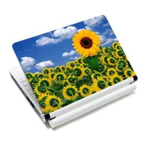 Ornate Sunflower Laptop Notebook Protective Skin Cover