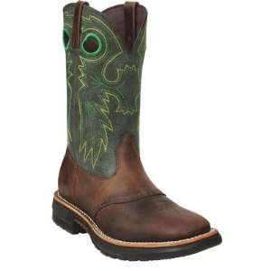 Rocky FQ0006026 Mens 6026 Original Ride Steel Toe Western Boots Baby